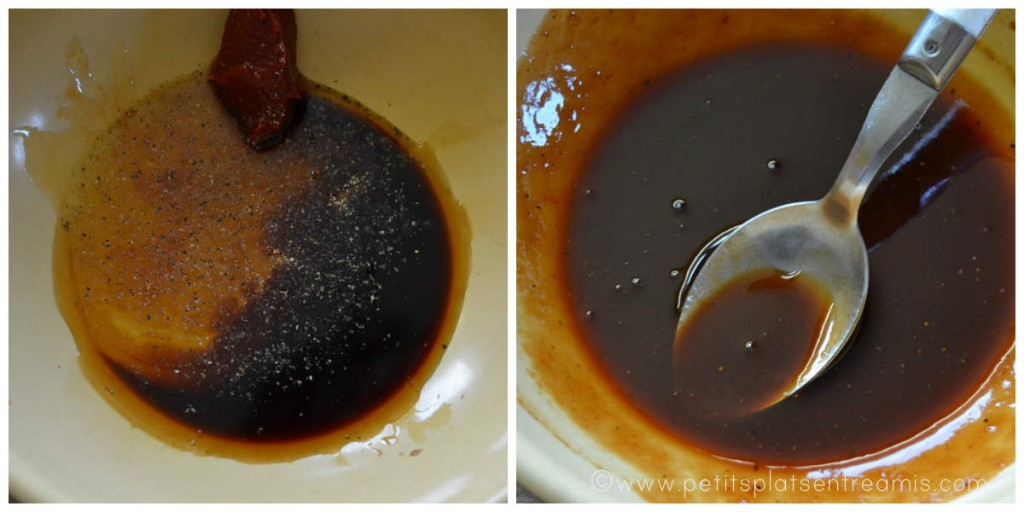 laquage au miel