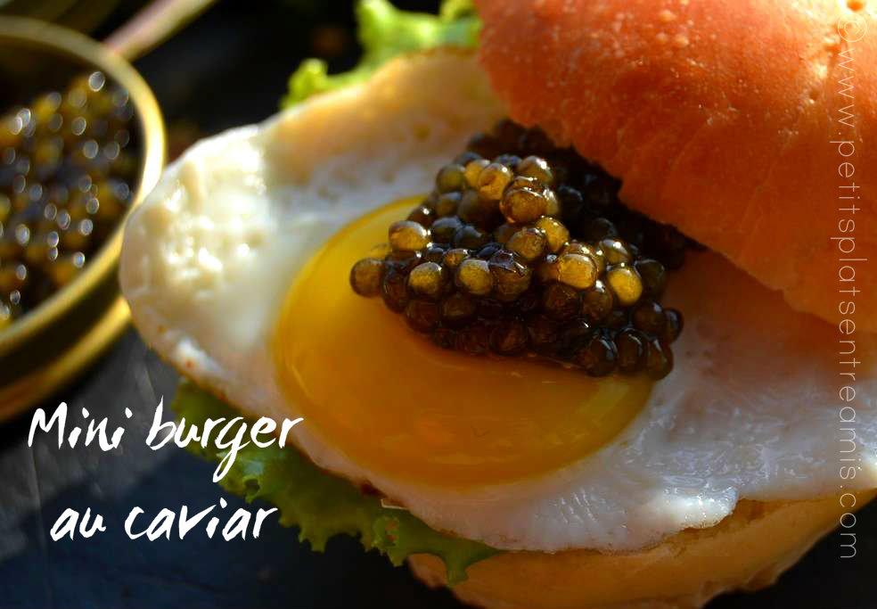 Caviar sur oeuf de caille