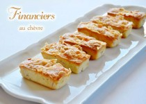 Financiers au chèvre