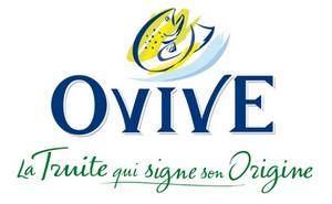 logo ovive la truite qui signe son origine 2011 RVB