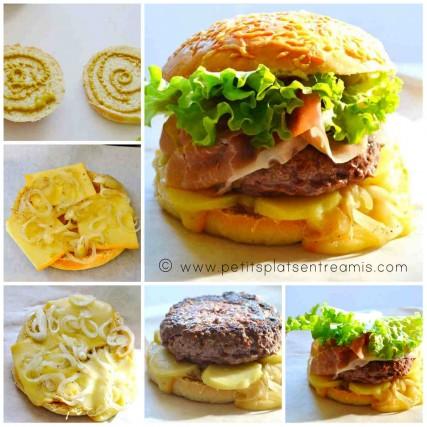 montage du hamburger savoyard