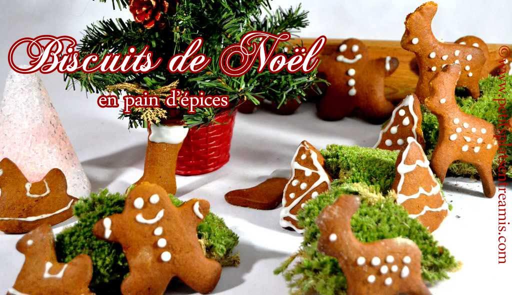 Biscuits de Noël en pain d'épices