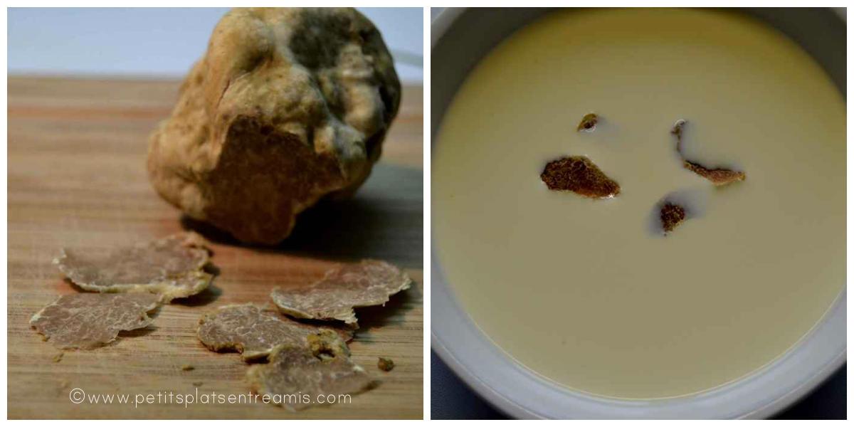 crème à la truffe blanche