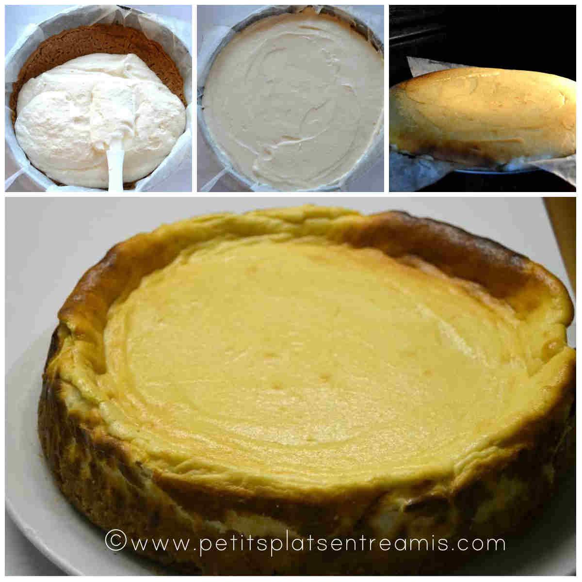 cuisson gâteau au fromage blanc
