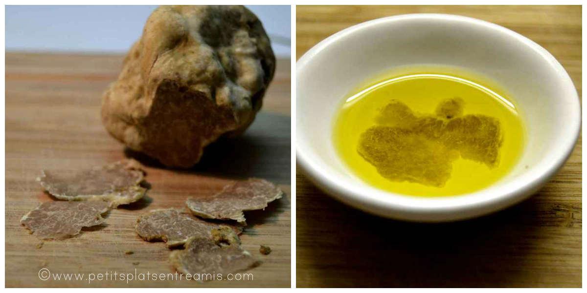 huile à la truffe blanche