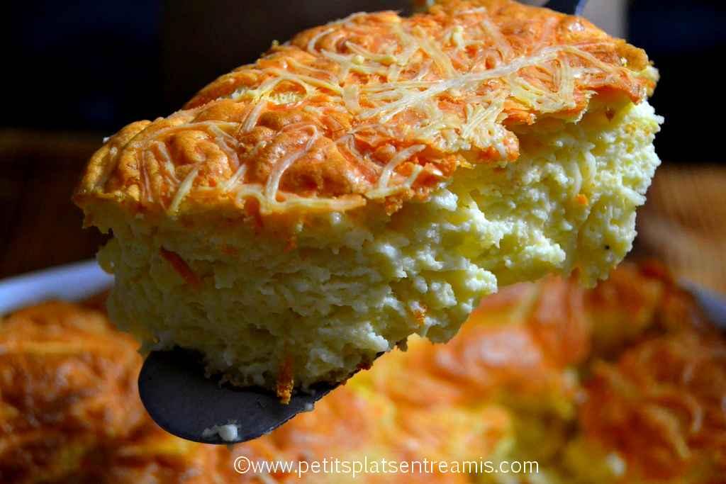 part de soufflé au fromage