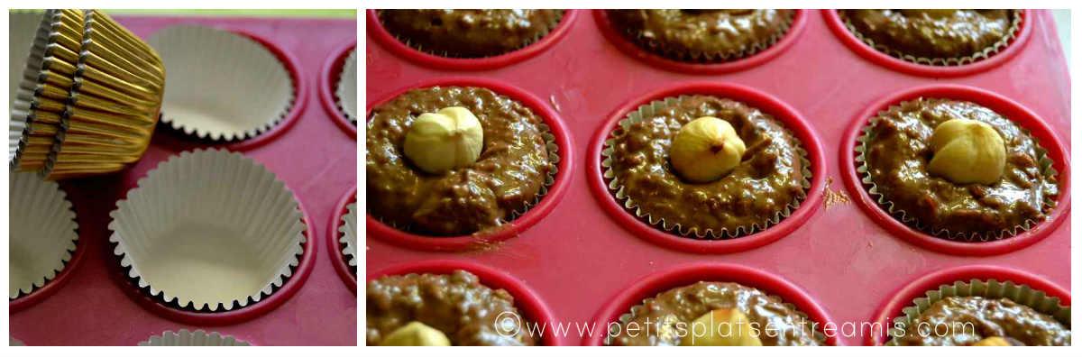remplissage moules pour petits chocolats