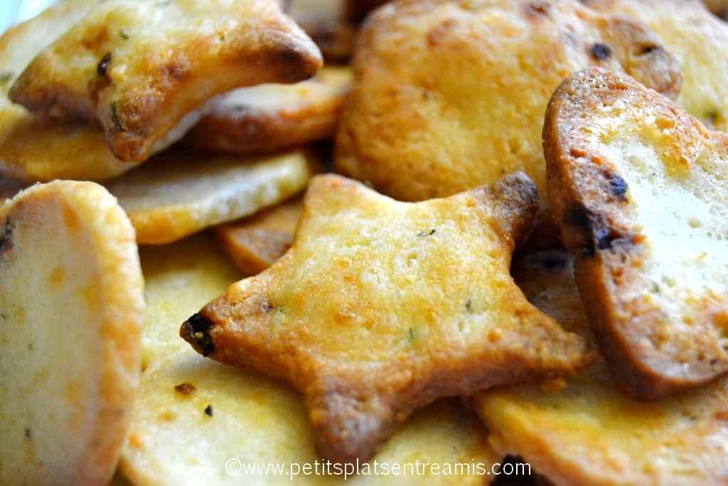 crackers au parmesan à la une