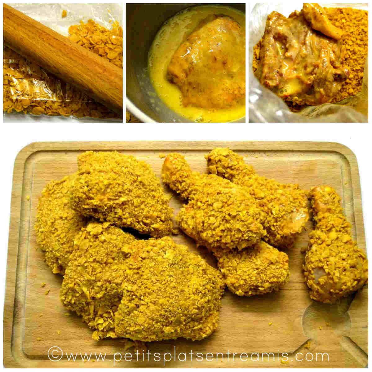 panure du poulet cajun