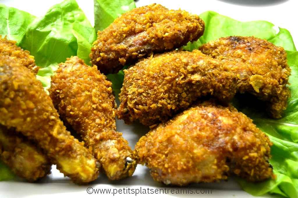 plat de poulet pané à la cajun
