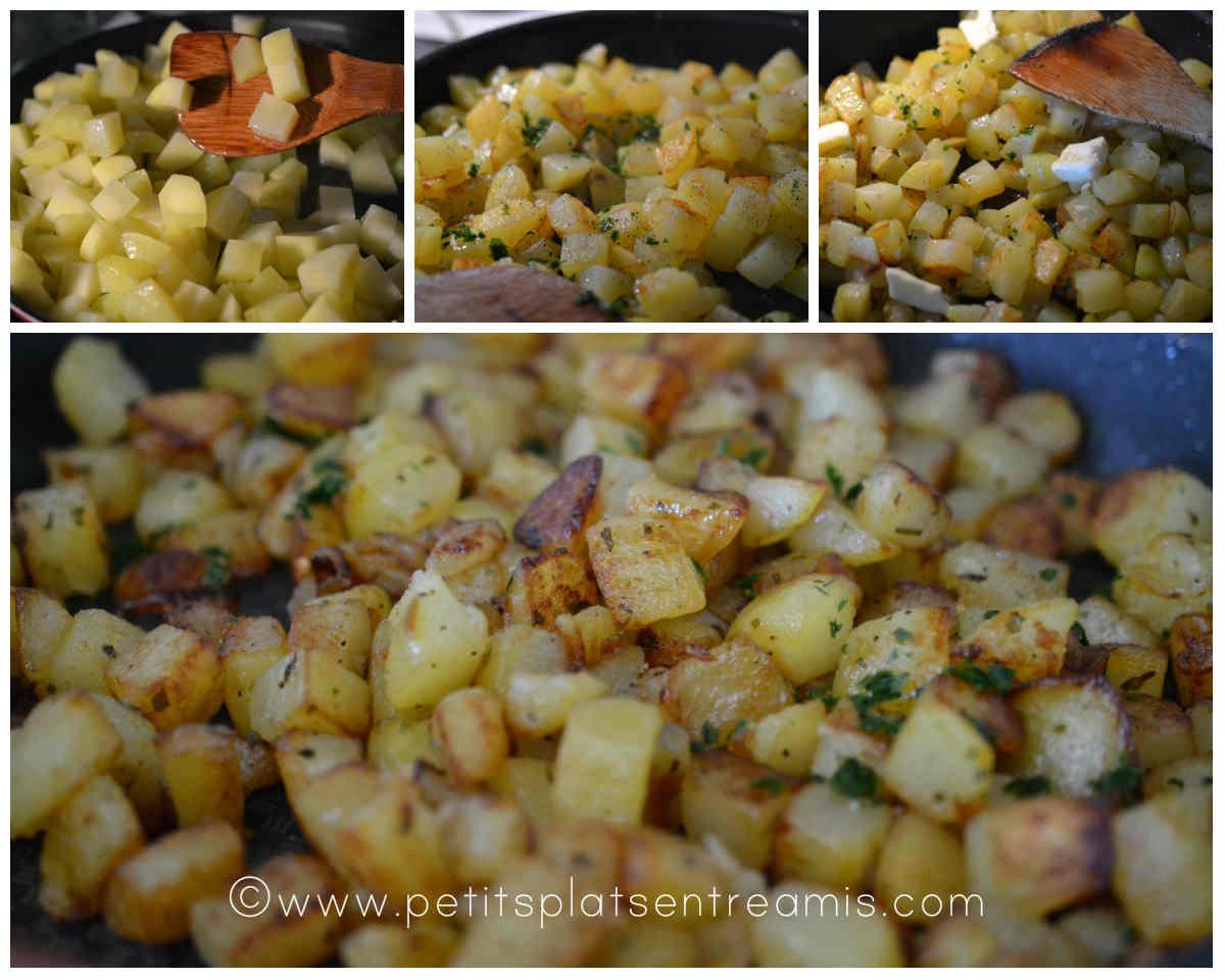 cuisson pommes de terre sautées