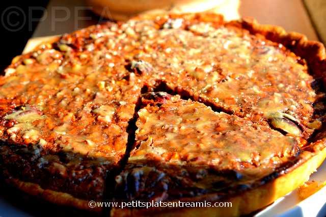 plat de tarte aux noix de pécan