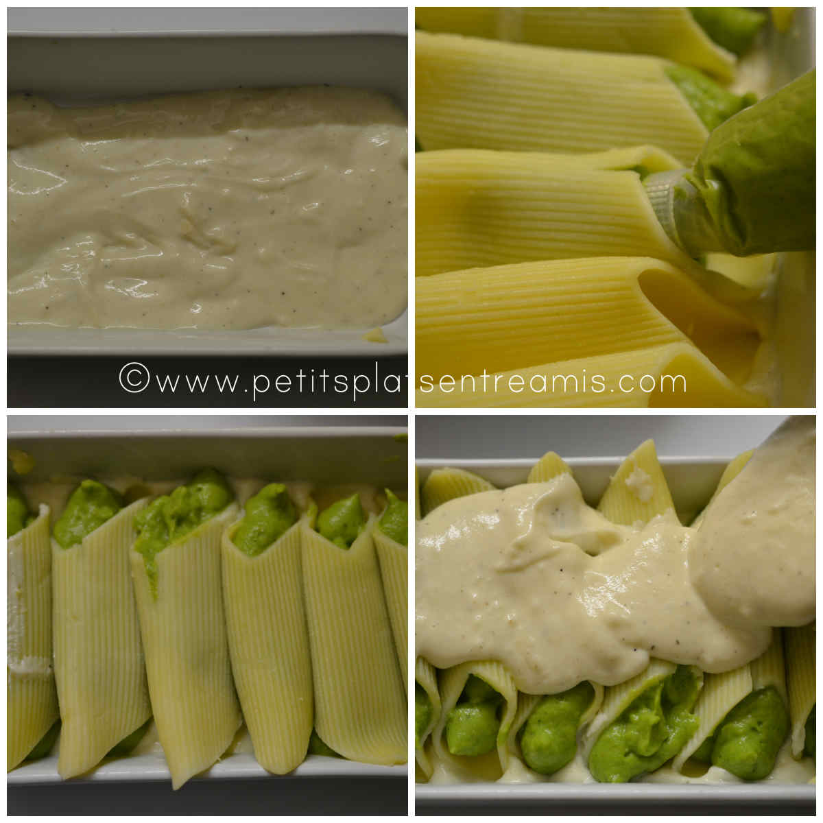 préparation des pennoni aux brocolis