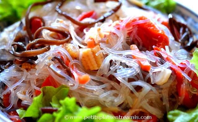 salade asiatique à la une