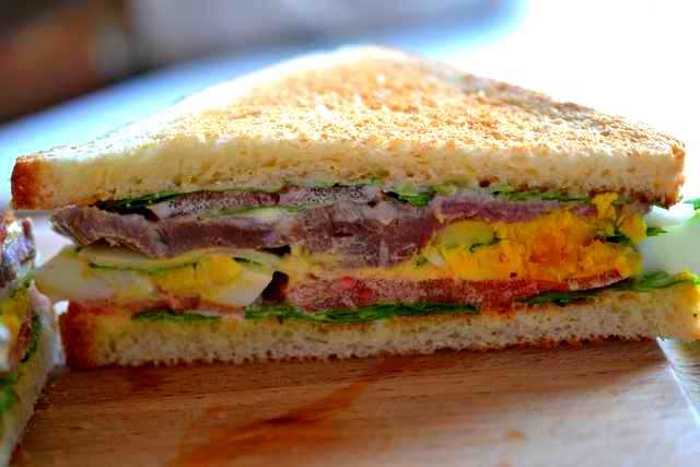 sandwich rosbeef tranché