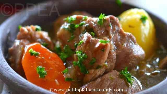 Irish stew à la une