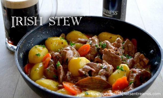 Recette de l'Irish stew