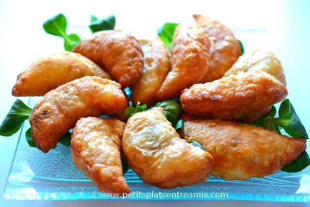 assiette de rissoles au boeuf