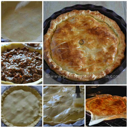cuisson de l'irish pie