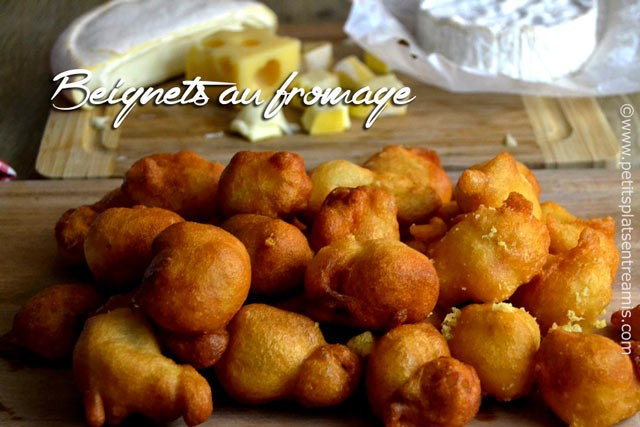 Beignets au fromage