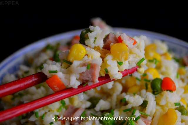 bouchée de riz cantonais