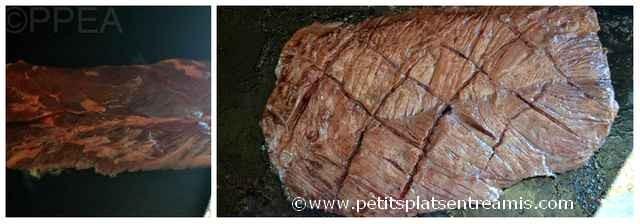 cuisson onglet à la plancha