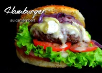 Hamburger au camembert