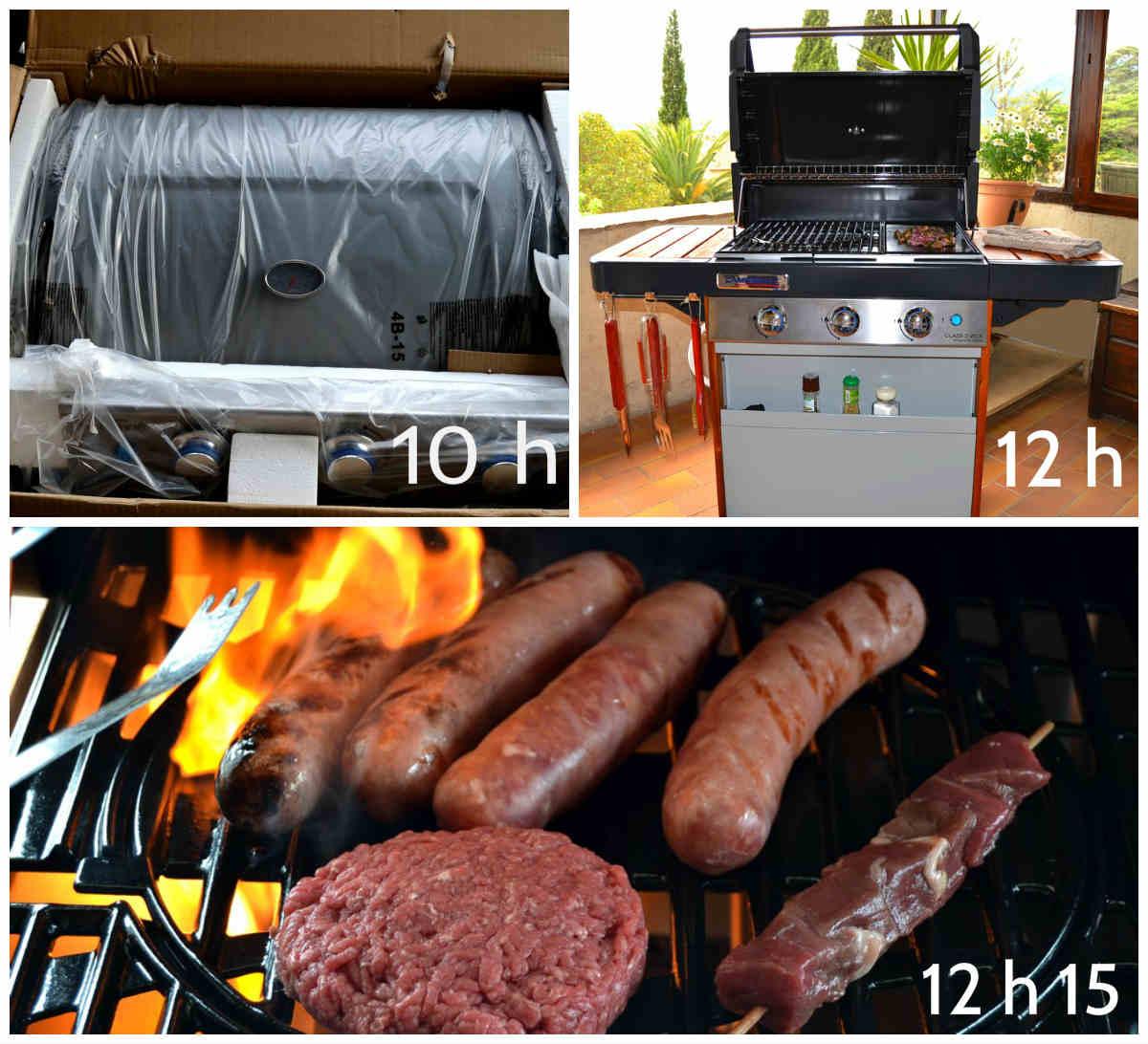 montage barbecue campingaz