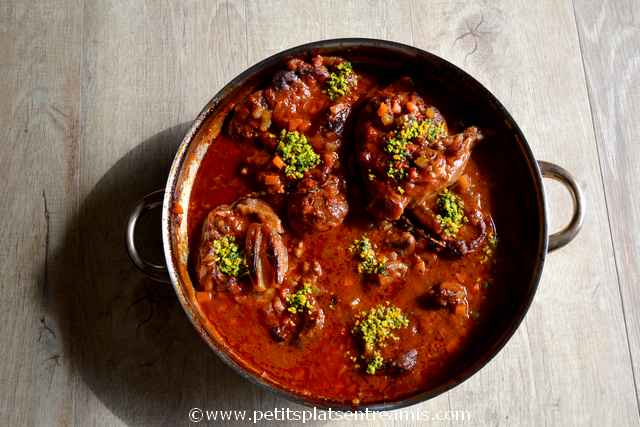 plat d'osso buco