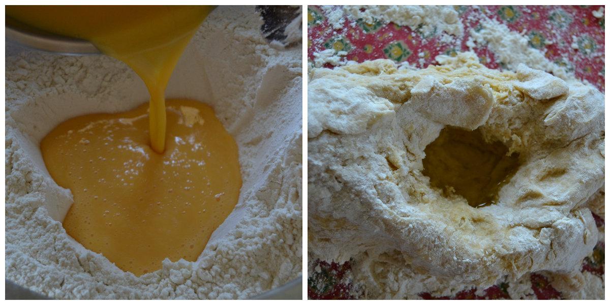 préparation pâte pour pâtes fraîches