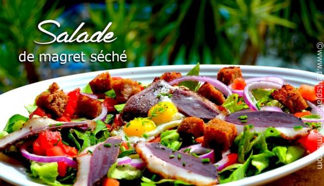 salade-de-magrets-séchés