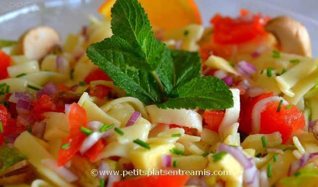 salade-de-pâtes-au-parfum-d'agrumes à la une