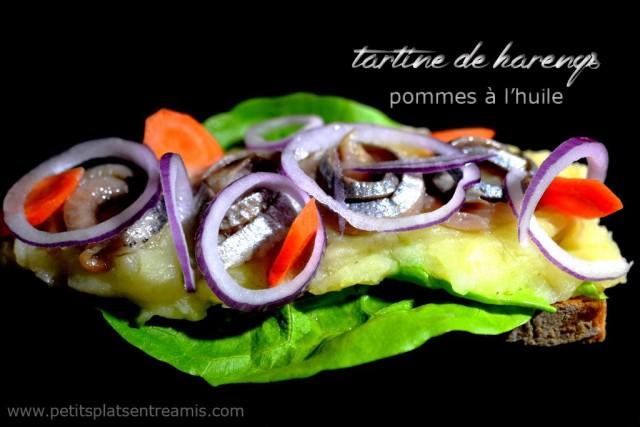 tartine-de-harengs-pommes-à-l'huile