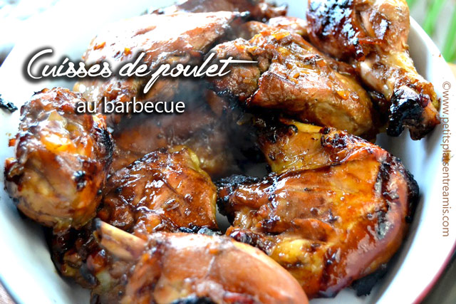 Cuisses de poulet au barbecue