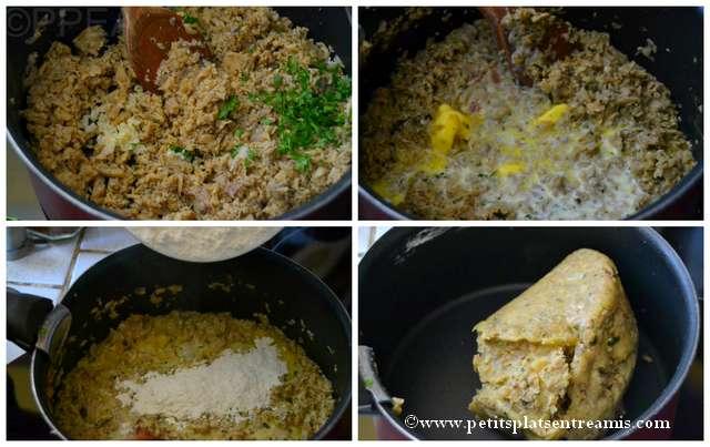 pâte pour beignets soufflés aux champignons