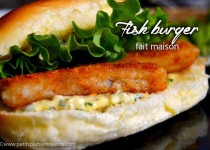 Fish burger maison – Burger au poisson