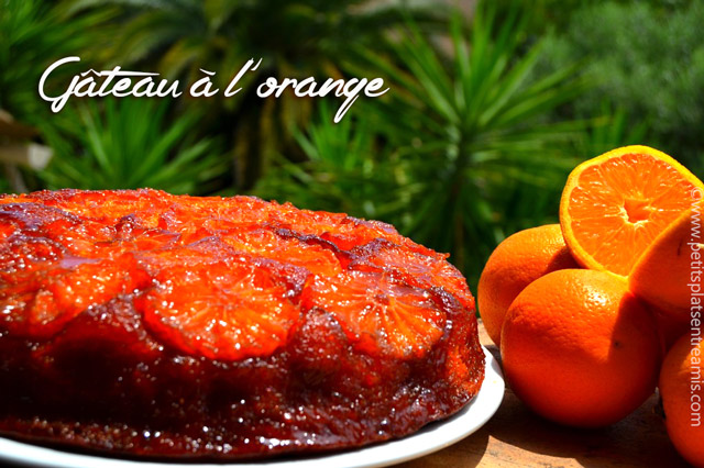 gâteau-à-l'orange