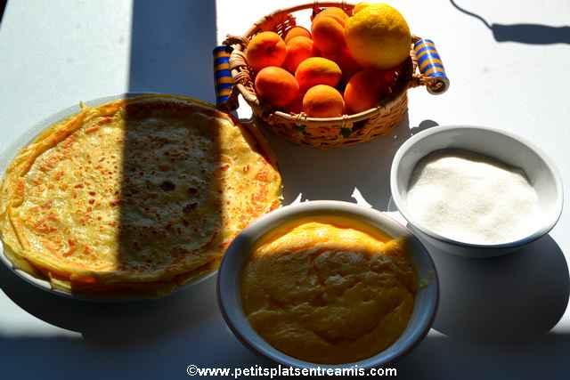 ingrédients pour abricots en aumonière
