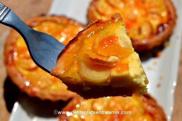bouchée de tartelettes-aux-pommes
