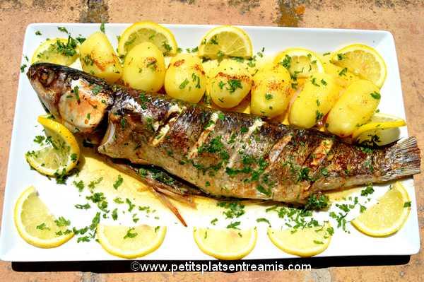recette poisson mulet au beurre noisette