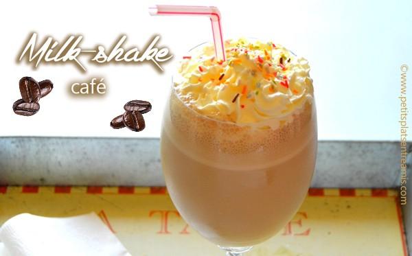 Milk-shake au café