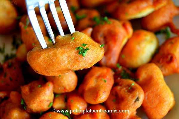 bouchée beignets-de-moules