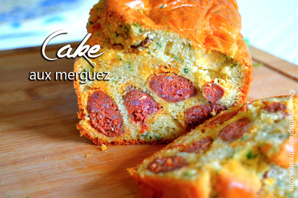 Cake aux merguez