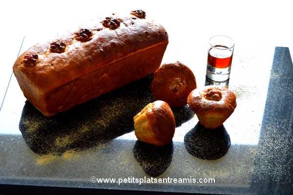 recette pain brioché aux noix et sirop d'érable