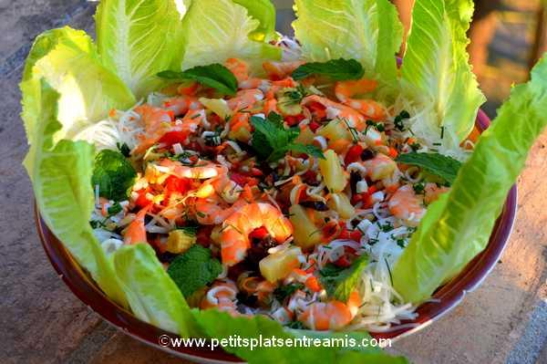 recette salade-de-soja-et-crevettes
