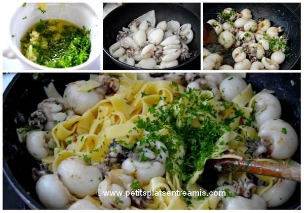 cuisson supions pour tagliatelles