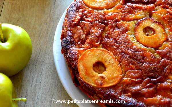 recette gâteau-aux-pommes-et-sirop-d'érable