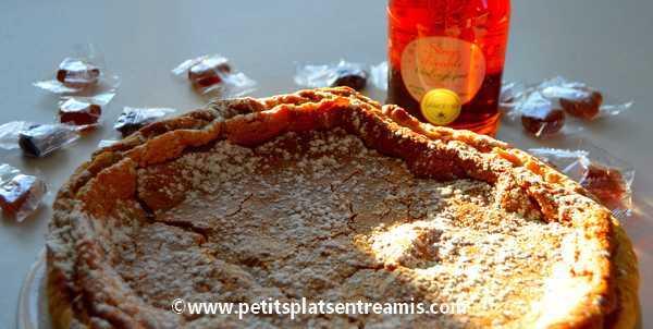 Recette tarte au sucre et sirop d'érable du Québec