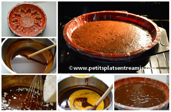 cuisson gâteau fondant au chocolat