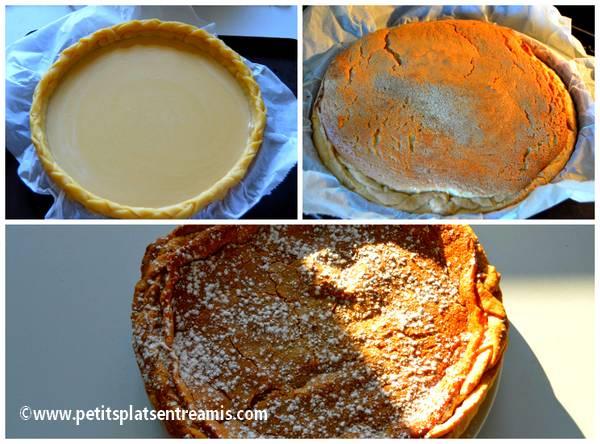 cuisson tarte au sucre